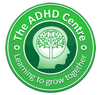 a small logo of the adhd centre