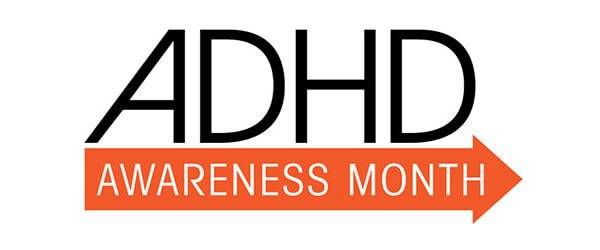 ADHD awareness month logo