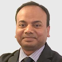 Dr Kumar portrait